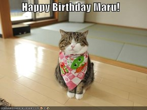 Happy Birthday Maru!