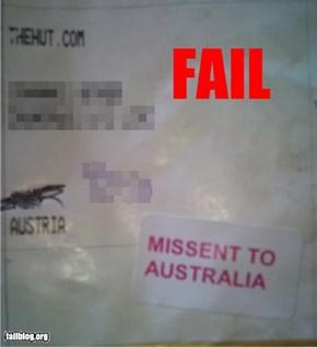 Letter Destination FAIL
