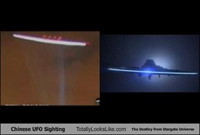 Chinese UFO Sighting Totally Looks Like The Destiny from Stargate Universe