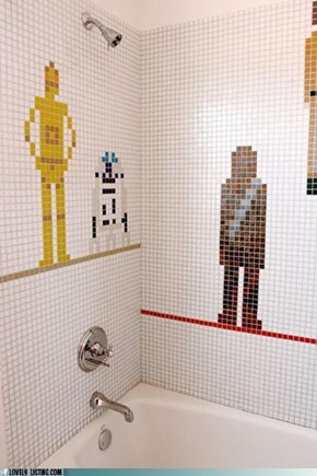 Star Wars Shower