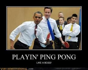PLAYIN' PING PONG