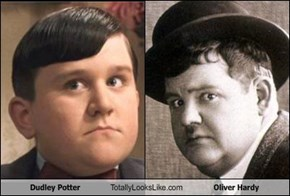 Dudley Dursley Totally Looks Like Oliver Hardy