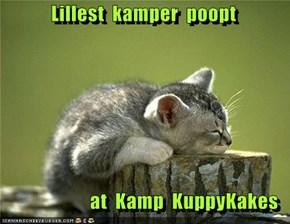 Lillest  kamper  poopt    at  Kamp  KuppyKakes