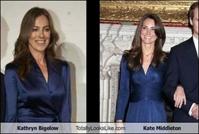 Kathryn Bigelow Totally Looks Like Kate Middleton