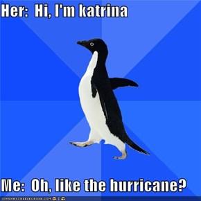 Socially Awkward Penguin: I Met Your Sister Isabel
