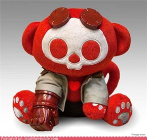 Must Have Cool: Skeleanimals: Hellboy Plush