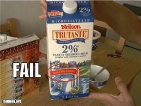 Taste FAIL