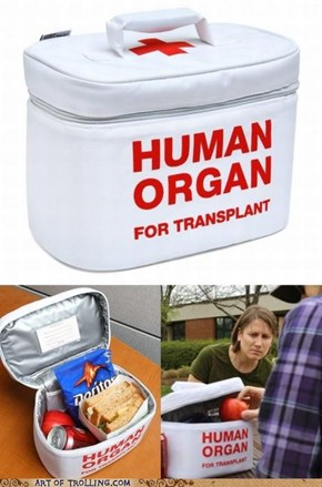 Those Organs Sure Look Tasty