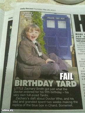 TARDIS Spelling FAIL