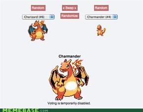 Charizard + Charmander = Charmander?