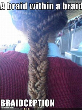 A braid within a braid  BRAIDCEPTION