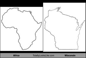 Africa Totally Looks Like Wisconsin