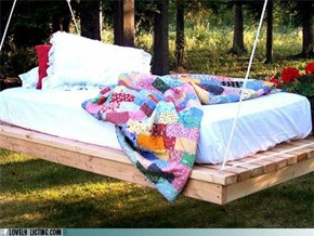 Outdoor Bed, You've Gotta Be Kidding Me