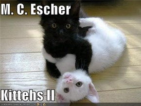 M. C. Escher  Kittehs II