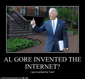 AL GORE INVENTED THE INTERNET?