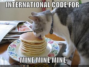 INTERNATIONAL CODE FOR  MINE MINE MINE