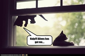 Halp!!! Aliens has got me....