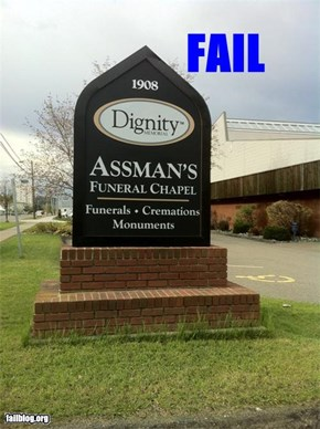 Dignified Funeral Chapel FAIL