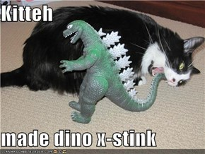 Kitteh  made dino x-stink