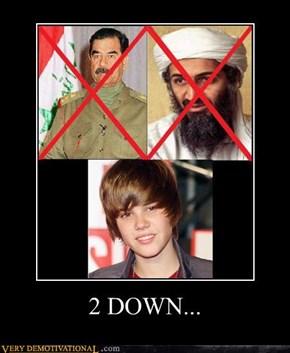 2 DOWN...