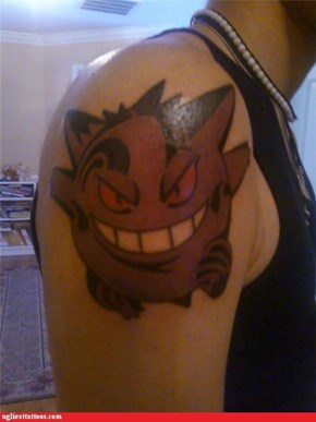 This Gengar Tattoo Has Its Own Tattoos