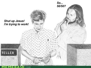 LoL Jesus: Serious business