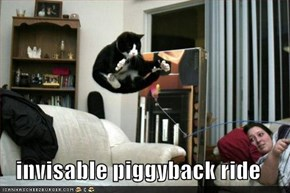 invisable piggyback ride