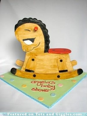 Cake of the Day: Rocking Horse