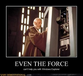 EVEN THE FORCE