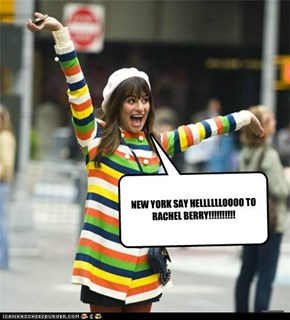 NEW YORK SAY HELLLLLLOOOO TO RACHEL BERRY!!!!!!!!!!