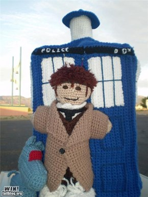 Knit-craft Doctor Who WIN