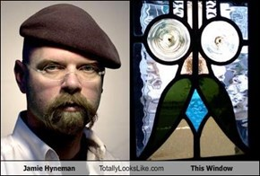 Jamie Hyneman Totally Looks Like This Window