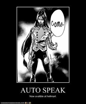 AUTO SPEAK