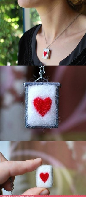 Heart Sweater Pendant