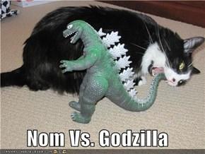 Nom Vs. Godzilla