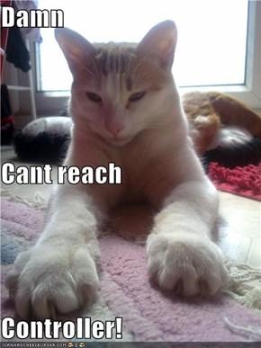 Damn Cant reach Controller!