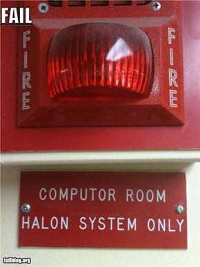Fire sign misspell