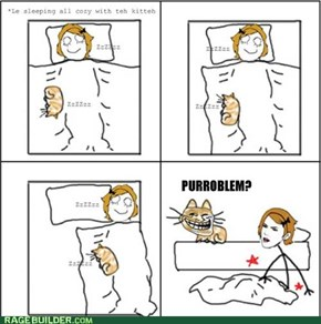 Sleeping with Kitteh, Part 1