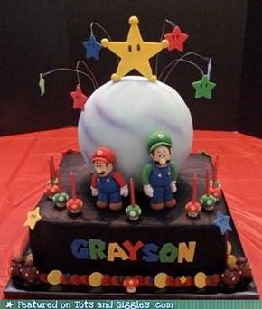 Cake of the Day: Super Mario