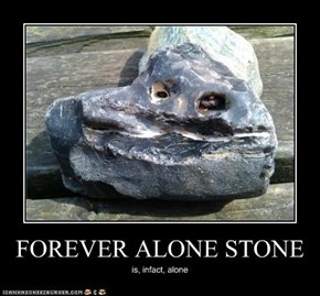 FOREVER ALONE STONE
