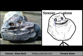 Forever  Alone Rock  Totally Looks Like Forever Alone