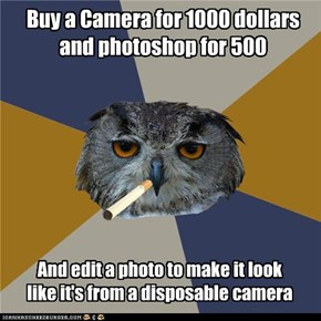 Art Student Owl: Instagram for Dummies