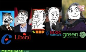 The Canadian Election in Memes