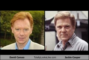 David Caruso Totally Looks Like Jackie Cooper