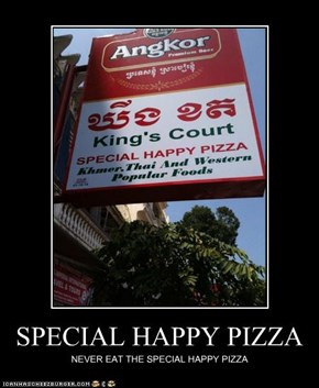 SPECIAL HAPPY PIZZA