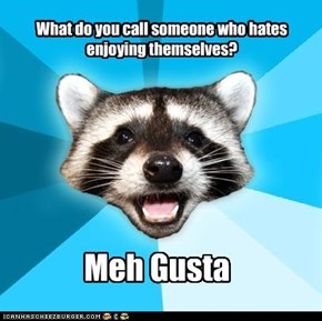 What do you call someone who hates   enjoying themselves?