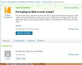 Rock, on, Biebs