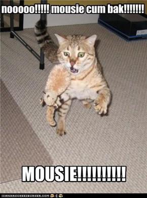 nooooo!!!!! mousie cum bak!!!!!!!