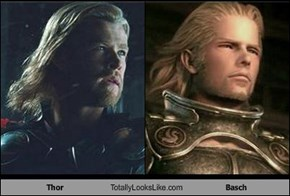 Thor Totally Looks Like Basch