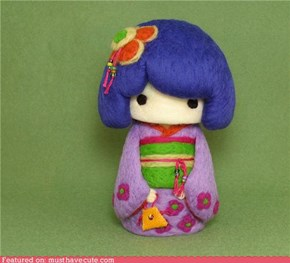 Kimono Cutie Girl